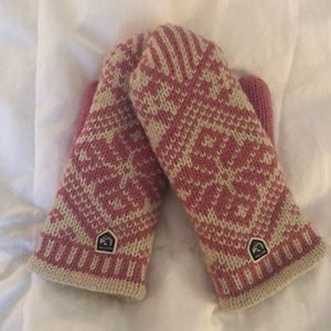 Hestra Wool fleeced-lined mittens